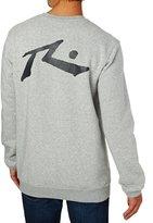 Rusty Competition Crew Neck Fleece Sweatshirt