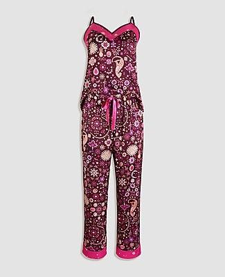Ann Taylor Gem Print Silky Pajamas