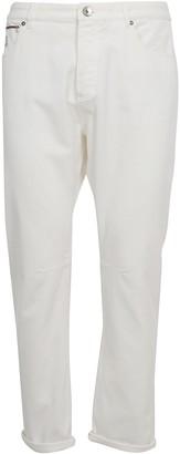 Brunello Cucinelli Logo Patch Jeans