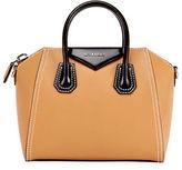 Givenchy Antigona Bicolor Small Leather Satchel Bag