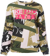 Kenzo Broken Camo sweatshirt - women - Cotton - M