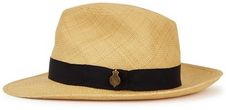 Christys London Christys' London Notting Hill Light Brown Panama Hat