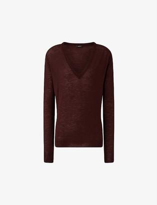 Joseph V Neck Cashair Knit cashmere jumper