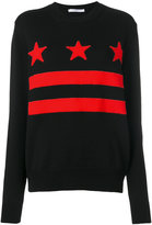 Givenchy stars and stripes jumper