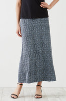 J. Jill Printed Easy Knit Maxi Skirt