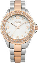 Oasis Two Tone Barcelet Watch