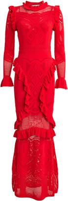 Alexis CeeCee Pointelle Knit Maxi Dress