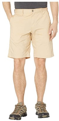 Mountain Khakis Stretch Poplin Shorts Slim Fit (Khaki) Men's Shorts