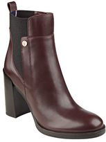 Tommy Hilfiger Britton Leather Booties