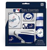 Baby Fanatic 5 Piece Gift Set, Los Angeles Dodgers by