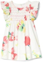 Gap Floral flutter smock dress