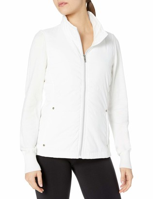 Cutter & Buck Women's Cb Weathertec Cora Quilted Sweater Jacket