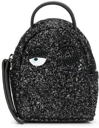 Chiara Ferragni wink glitter backpack