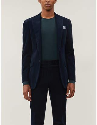 Richard James Tailored-fit corduroy blazer
