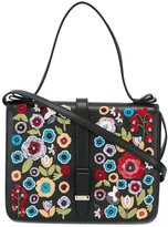RED Valentino floral embroidery tote