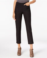 Eileen Fisher Organic Cotton-Blend Slim Ankle Pants