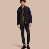 Burberry Lightweight Field Jacket With Removable Warmer
