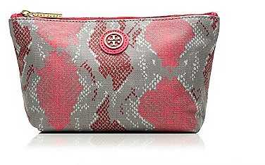 Tory Burch Pop Snake Small Slouchy Cosmetic Case