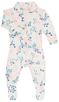 Bonds Baby Brush Floral Zip Wondersuit Sleepsuit, Pink/Multi