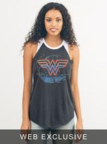 Junk Food Clothing Wonder Woman Raglan Tank-jb/ew-l