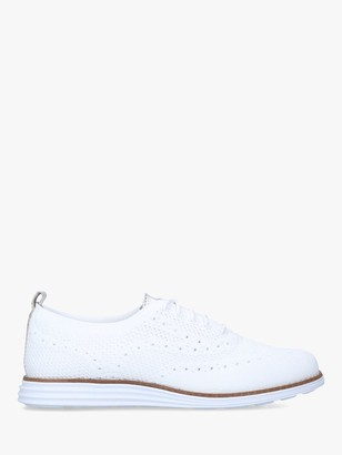 Cole Haan Original Grand Stitch Lace Up Trainers, White
