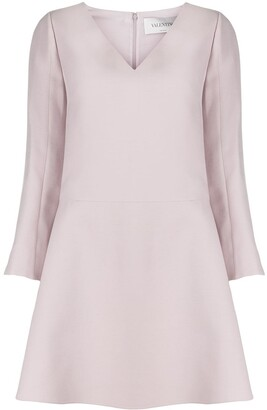 Valentino Bell Sleeve Skater Dress