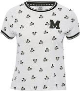 M&Co Disney Mickey Mouse crop t-shirt