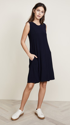 Norma Kamali Kamali Kulture Sleeveless Swing Dress