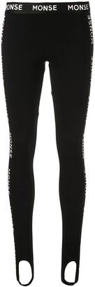 Monse Logo Tape Leggings