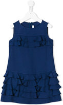Simonetta ruffled dress - kids - Acetate/Viscose - 6 yrs