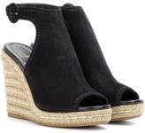 Prada Espadrille-sandalen Mit Keilabsatz