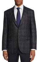 Jack Victor Plaid Classic Fit Sport Coat