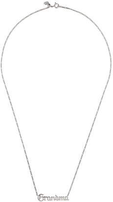 Maria Black Grandma necklace