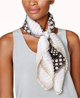 Vince Camuto Crest-Dot Square Scarf