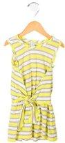 Little Marc Jacobs Girls' Sleeveless Striped Dress