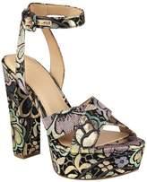 GUESS Women's Powerr Brocade Platform Heels
