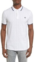 Fred Perry Men's Square Dot Pique Polo
