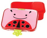 Skip Hop Zoo Little Kids & Toddler Lunch Kit With Storage Container - Ladybug