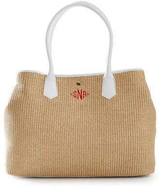 Mark & Graham Italian Straw Handbag