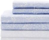 Melange Home 400 Thread Count Lace Cotton Sheet Set - Lilac