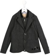 John Galliano checked blazer - kids - Cotton/Polyester/Other fibres - 6 yrs