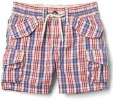 Gap Americana plaid beachcomber shorts