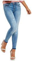 William Rast Destructed Perfect Skinny Jeans