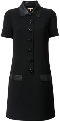 Michael Kors Collection Shortsleeved Shirt Dress