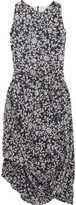Vivienne Westwood Eight Draped Printed Cotton-voile Dress - Gray