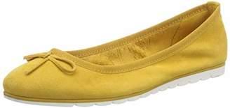 Marco Tozzi Premio Women's 2-2-22133-22 Ballet Flats, Yellow (Sun 602)