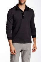 HUGO BOSS Piceno Stand-Up Collar Pullover