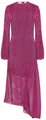 Chloé Cotton-blend knit dress