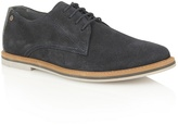 Frank Wright Navy Suede 'woking Ii' Lace Up Shoes