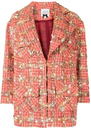 Edward Achour Paris Long-Sleeved Drop Shoulder Jacket